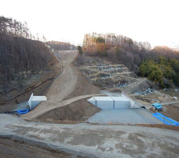 中部横断自動車道 前山地区工事用道路3工区