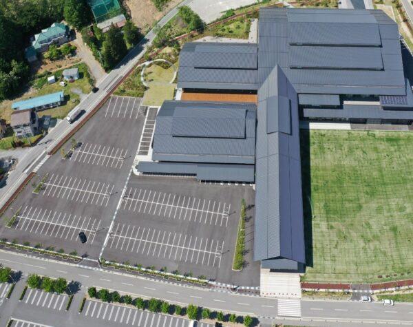 県立武道館駐車場整備ほか工事
