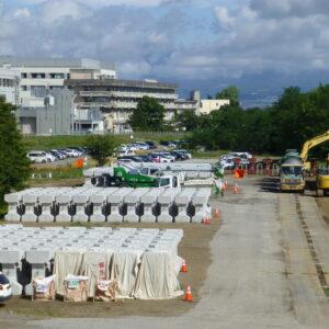 臼田護岸災害復旧その2工事 現場見学📷